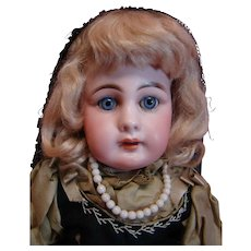"15"" Model 939 Simon & Halbig Estate Doll, Preserved to the Hilt in Original Clothes, Unders, Body and Wig, Unbelievably Awesome!"