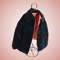 Antique Lined Cape for 19-22 In. Doll, Circa:  1890's
