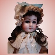 Large 27 Inch Antique Closed Mouth DEP French Jumeau Size 11 Estate Doll