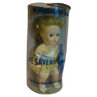 """11"""" Horsman """"Life Savers Doll,"""" in Original Box Never Removed, Used as Advertisement by the Life Savers Corporation"""