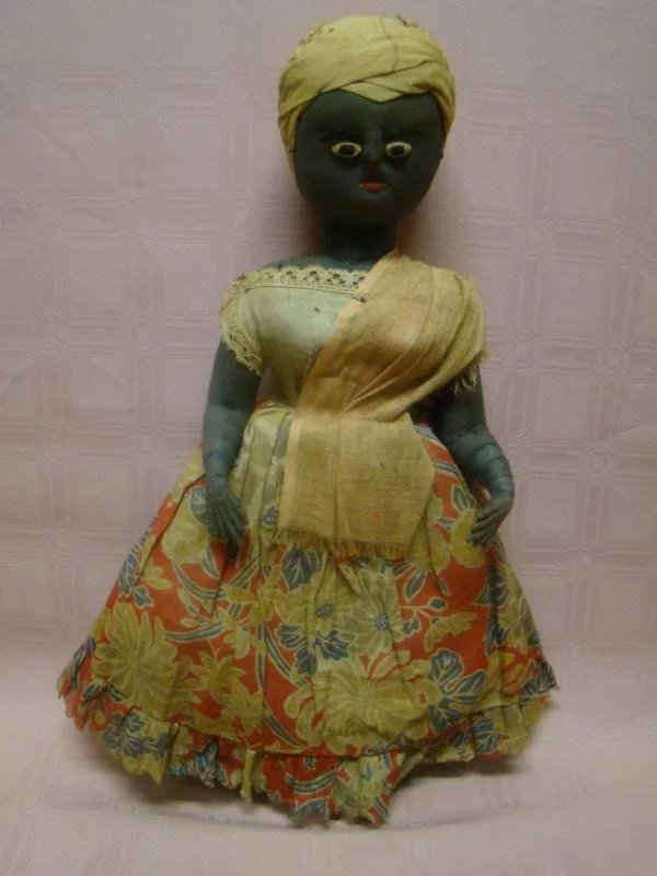 Magnificent Museum Quality 19th Century Hand Made Black