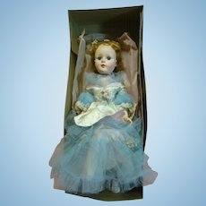 American Character Sweet Sue, 22 Inch, Mint, Original in Long Dress, Contained in Original Labeled Box with Tissue, 1953