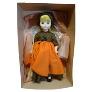 "12"" Madame Alexander MIB "" Poor Cinderella, "" 1967 Hard Plastic with Vinyl Head, Factory Crisp with Pink Tissue and Cardboard"