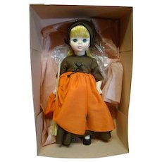 "12"" Madame Alexander MIB "" Poor Cinderella, "" 1967 Hard Plastic with Vinyl Head, Factory Crisp with Pink Tissue and Cardboard"