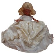 Nancy Ann Storybook Bride Doll, Bisque, Jointed Arms, Crisp and in Never-Played-With Condition