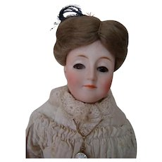 "19-20 Inch Original Edwardian "" Gibson Girl "" by J. D. Kestner, Germany, Ca:  1910, Model 172"