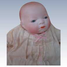 Precious Blue Eyed Tiny 10 In. H.C. Bye-lo Baby, Designed by Grace S. Putnam, Made in Germany, ca: 1923