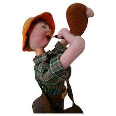 Klumpe Character, Duck Hunter, Made in Spain, Original and Excellent Condition
