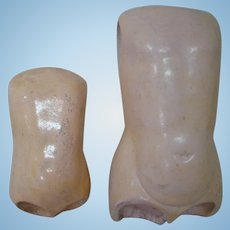 Two Torsos for German Composition Ball Jointed Child Bodies