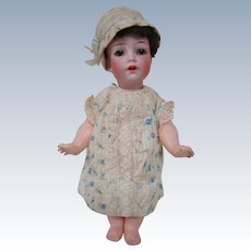 Original K*R / Simon & Halbig 9 In. Character on Chubby 5-Piece Toddler Body with Starfish Hands
