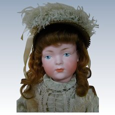 18.5 In. Kley & Hahn Mold #526 Character Doll with Exquisite Painted Eyes