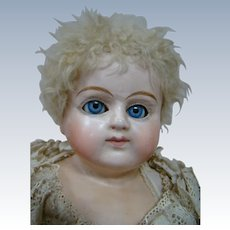 Fine Condition Patent Washable Doll, Germany, Original Skin Wig, Molded Boots, Superior Quality, Excellent Condition