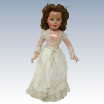 Beautiful Composition Monica Doll, Inset Human Hair, Painted Features, Original Clothes
