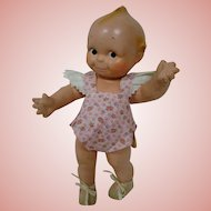 12.5 In. All Composition Original Kewpie #2, Jointed at Neck, Shoulders and Hips, Original Retail Tag!