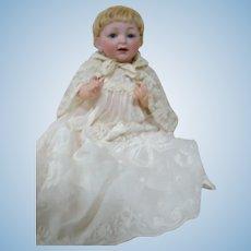 "13 In. German Kestner Mold #211, Character Baby ""Sammy"" on Original Five-Piece Baby Body, Blue Sleep Eyes"