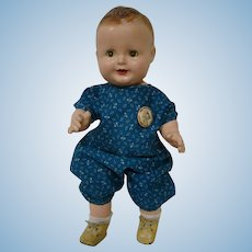 "All Composition "" Baby Sandy "" Toddler Doll by Freundlich Novelty Corp., NY"