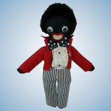 16 In. Vintage Cloth Golliwog