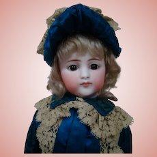Elusive Simon Halbig German Fashion Doll in Original Couture Clothing, Shoes, Etc.