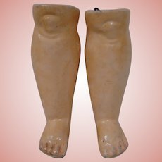 Original Matching Lower Legs for a German Composition Child Body