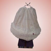 Wired Hoop Skirt for an Antique Doll