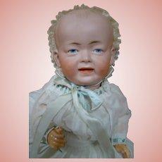 Sweet German Bisque Head Baby Kley & Hahn Mold #525