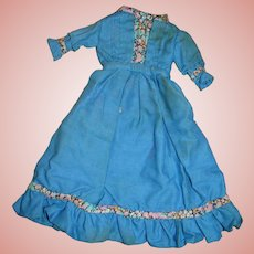 Lovely Antique Dress for China or Other Slender 9-10 in. Doll