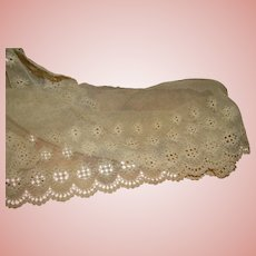 3 Large Pieces of Antique Trim / Embellishments for Doll Dressmaking