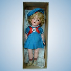 18 In. Ideal's Compo Shirley Temple, Original Box, Rare Outfit
