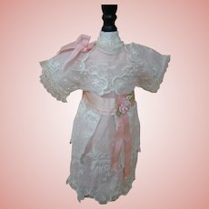 Fashionable Artisan Edwardian Style Dress for Dolls of the 1901-1910 Era