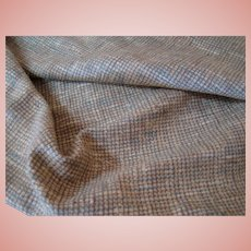 Several Pieces of Nubby Textured Silk Suiting Fabric for Doll Dressing