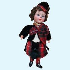 G. Heubach Scarce Bisque Head Character, 100% Original