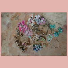 Sundry Floral Items, Bunches, Sprigs, Etc., for Making Your Dolls Pretty