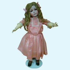 "Magnificent 26 Inch German K*R 117 ""Mein Leibling"" Bisque Head Character Child Doll"