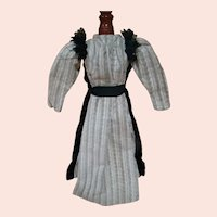 Early Antique Dress for a China, Parian, Paper Mache or Other Lady Doll