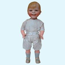 19 Inch Gladdie Doll, Biscaloid Head, Composition Body, Made in Germany, Helen Jensen Designer, ca:  1929