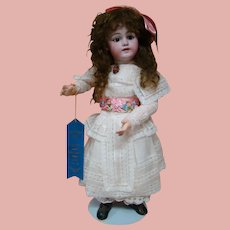 24 In. Simon Halbig German Mold #1009, Long Tails Wig, Great Body