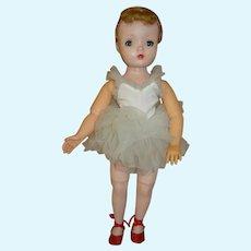 """1950's Hard Plastic """" Margo Ballerina """" by Madame Alexander"""