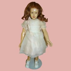 "16 In. Latex Character Doll "" Cindy "" by Dewees Cochran, 1947-48"