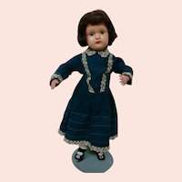 """21 In. """"Miss Dolly"""" Wood Schoenhut, Excellent Condition; ca: 1915-1930."""