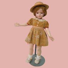 "20"" Composition Effanbee American Children Gloria Ann, Designed by Dewees Cochran, ca: 1936-1939"