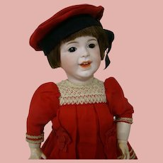 18 In. French Laughing Jumeau SFBJ Character Toddler Mold #236 with Personality Plus