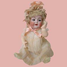 25 In. German Bisque Socket Head Kammer & Reinhardt #126 Character Baby