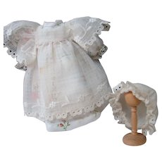 Three Piece Cotton Outfit for Small German Doll