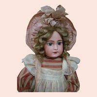 German Simon & Halbig Mold #939 Bisque Head Child on Original 8 Ball Jointed Body