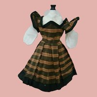 Vintage (or Antique) French Fashion Infantine Style Two Piece Outfit