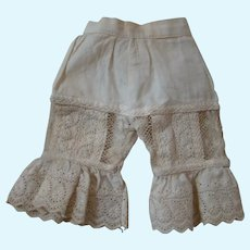 Gorgeous Original French Pantaloons or Bloomers for a French Fashion