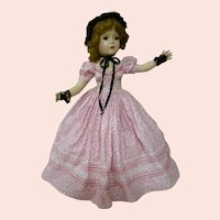 Hard Plastic Madame Alexander 1953 18 In. Glamour Girl with Maggie Face, Excellent Condition, Original, Tagged