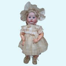 """French SFBJ Mold #252 Closed Mouth Extreme """"Pouty"""" Character Toddler"""