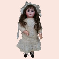 Early 1880's French Rabery & Delphieu ( R. D. ) Bebe with Row of Upper Teeth, Original Compo Jtd Body