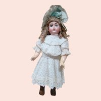 24 In. German Early Closed Mouth Pouty Kestner, Compo 8 Loose Ball Chunky Body, French Cut Head Opening